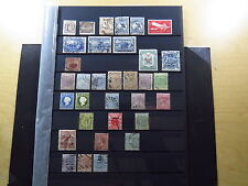 33 Stamps Australia Gambia Fuji Cook Islands Bermuda Barbados Commonwealth Used