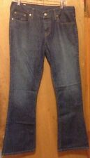 Ambercrombie & Fitch jeans for women size 8 relaxed flare 34x31 ladies