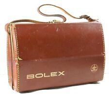 Paillard Bolex Vintage Leather Case - 8mm Movie Cameras B8 C8 D8 P1 P2 P3