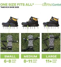 GoPPa Lawn Aerator Shoes – Easiest to USE Lawn Aerator Sandal, You only FIT Once