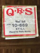 QRS Word Roll 10-669 STILL (Tested 100%)