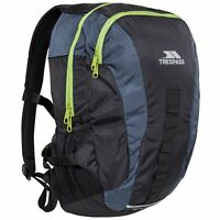 Trespass Race 20 Litre Flint Rucksack Padded Trekking School Work Bag