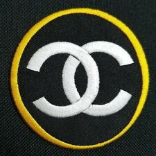 brand chanel embroidered iron on sew patch dress jacket hat bag jeans badge