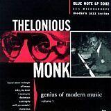 MONK Thelonious - Genius of modern music vol 1 - CD Album