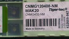 Walter CNMG 120408 - NM WAK20  - 10 Inserts