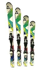 New listing Fischer Koa Youth Skis & Fj40 Bindings Tuned Waxed 100,110,120,130 Kids Junior