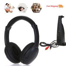 5 in 1 Hi-fi Wireless Headset Headphone Earphone for PC Laptop TV FM Radio Mp3