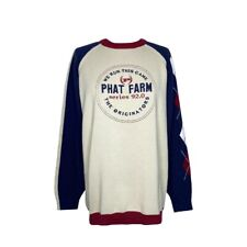 Phat Farm Vintage Heavy Knit Sweater Men's Size XL