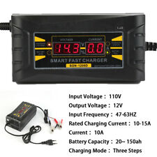 Battery Tender Plus 12V for Motorcycle Car Truck Maintainer Charger AMP 20~150ah