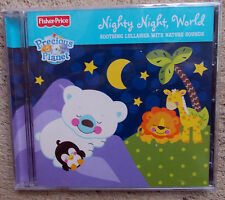 FISHER -PRICE: Nighty Night,World soothing lullabies with nature sound FREE POST