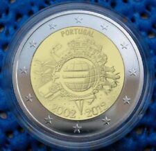 manueduc   PORTUGAL  2012  2 EUROS  DECIMO ANIVERSARIO TYE NUEVOS
