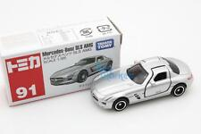 Takara Tomica Tomy #91 Mercedes-Benz SLS AMG Scale 1/65 Diecast Toy Car Japan