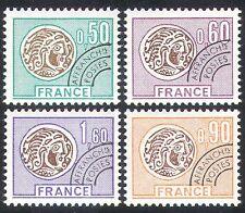 France 1976 Pièces/argent/Commerce/Pré-annuler/histoire 4 V Set (n40255)