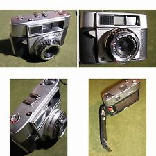 Alte Agfa Optima 2 Analog Normalfilm Kamera um 1968-Rollfilmkamera mit Funktion.