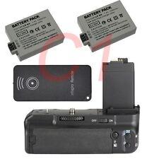 Battery Grip Pack For Canon EOS 450D 500D 1000D XS XSi T1i 2xLP-E5 replace BG-E5