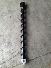 100mm  AUGER drill  to suit Mini Digger,skid steer, auger torque, dingo & toro