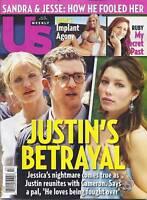 Us Magazine Justin Timberlake Jessica Biel Cameron Diaz Ellen Pompeo  Demin 2010