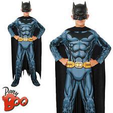 Batman Age 5 6 7 Childs Superhero Fancy Dress Boys Comic Book Kid Costume Outfit