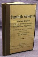 Bönhoff Das sächsische Erzgebirge im Kriegsleid 1911 Sachsen Saxonica Sagen sf