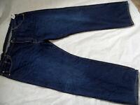 LEVIS Premium 501 coole dunkle Jeans Übergröße Gr. 48/32 NEU