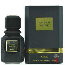 Ajmal Amber Wood EDP Eau De Parfum Spray (Unisex) 100ml 3.4oz Perfume
