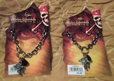 Pirates Of The Caribbean's Captain Jack Sparrow Key Chain-Set of 2