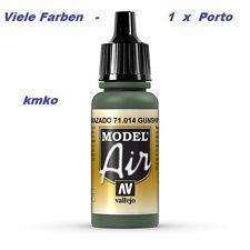 Vallejo Model Air MA 014 71014 Hellgrün RLM25 RAL6020 FS34108 17ml 15,29€/100ml