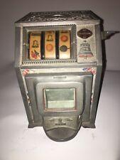 1930s Puritan Baby Jackpot Bell 25 Cent Trade Stimulator w/ Rare Jackpot Front