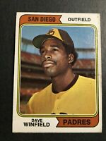 1974 TOPPS #456 DAVE WINFIELD RC VG+/EX SAN DIEGO PADRES NEW YORK YANKEES HOF