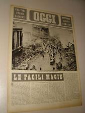 OGGI=1941/5=COVENTRY=AEREO ITALIANO BOMBARDA GRECIA=ACHILLE CAMPANILE RACCONTO=