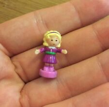 Vintage 1996 Polly Pocket Bluebird Magical Movin' Pollyville Figure Magnet Doll