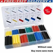 328pcs/Set Cable Heat Shrink Tubing Sleeve Wire Wrap Tube 2:1 Assortment Kit