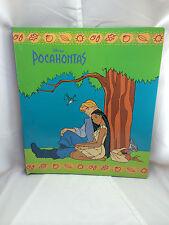 Disney Pocahontas 3 Ring Binder with 2 Pocket Folder Vintage