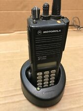 Motorola MTS2000 Radio H01UCH6PW1BNw/Battery,Charger,Antenna,Ac-No Mic