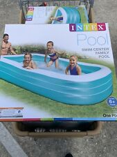 """Intex 120"""" X 72"""" X 22"""" Swim Center Family Inflatable Pool Brand new SHIPS NOW"""