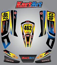 Arrow AX9 junior full custom KART ART sticker kit SUNRISE STYLE / graphics