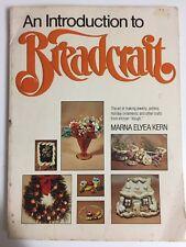 An Introduction to Breadcraft by Marna E. Kern 1978 Using Dough - crafts pottery