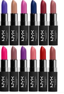 NYX Velvet Matte lipstick Various shades