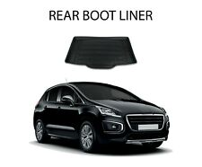 PEUGEOT 3008 REAR BOOT LINER MAT COVER 1.8mm THICK  - 3631