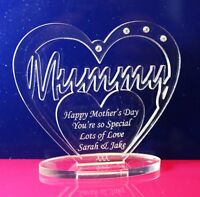 Personalised Heart for Mummy, Happy Mother's Day, Birthday Gift
