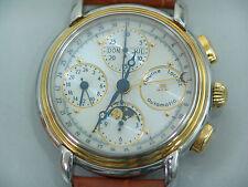 Maurice Lacroix Masterpiece Chronograph Vollkalender + Mondphase Ref. 66412
