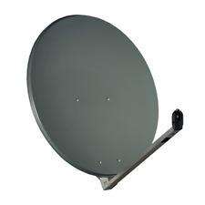 Gibertini SAT Antenne 100 Cm Alu Satellitenschüssel Schüssel Spiegel Anthrazit