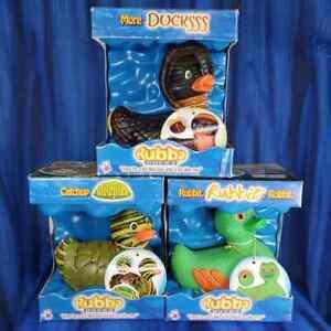 Ducksss Rubbit Slow Poke Snake Cobra Frog Turtle Rubba Rubber Duck NIB