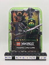 Lego Ninjago Serie 3 Trading Card Game Mini Tin Box Dose GRÜN Cards leer NEU