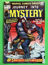 """Journey Into Mystery #13 (1974) """"Abominable Snowman�; Vg"""