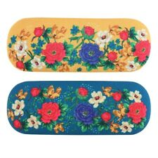 Mexican Floral Glasses Case - Brand New