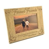 Friends Forever Wooden Photo Frame Gift FW179