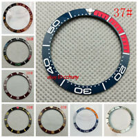 38mm Colorful Ceramic bezel insert for 40mm GMT parnis mens watch New P300