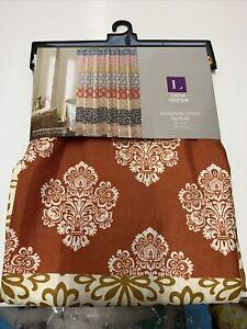"Bohemian Stripe 72""x72"" Shower Curtain New"