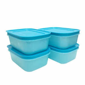 Tupperware 2 In 1 Chill Freez Blue - BPA Free - Free Shipping